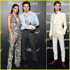 Brooklyn Beckham & Hana Cross Couple Up For 'The Gentleman's Evening' Dinner Event in Cannes