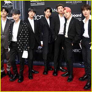 The Boys of BTS Look Sharp & Stylish at Billboard Music Awards 2019