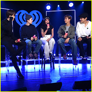 Halsey Joins BTS at iHeartRadio Live Event & Perform 'Boy With Luv'