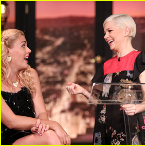 Michelle Williams Makes Busy Philipps Cry with Emotional Speech on Final 'Busy Tonight' Episode!