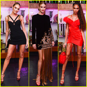 Candice Swanepoel, Rosie Huntington-Whiteley & Joan Smalls Look So Chic at Gucci's Met Gala 2019 After Party