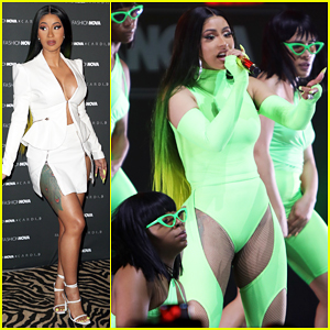Cardi B Celebrates Her Fashion Nova Collection Launch, Sends Message To Britney Spears!