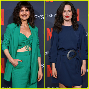 Carla Gugino & Elizabeth Reaser Step Out For 'The Haunting of Hill House' Netflix Event