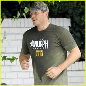 Chris Pratt Works Up a Sweat During Boot Camp Workout!