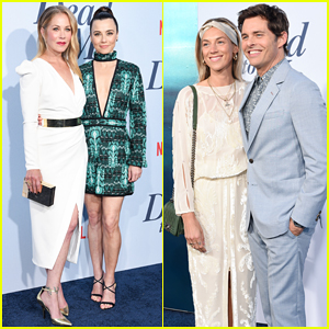 Christina Applegate, Linda Cardellini & James Marsden Celebrate 'Dead To Me' Premiere!