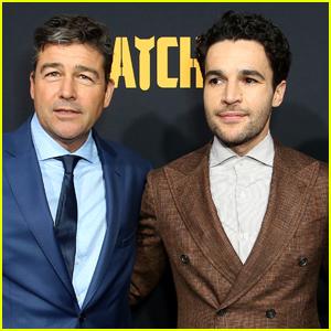 Kyle Chandler & Christopher Abbott Suit Up for 'Catch-22' Premiere