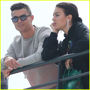 Cristiano Ronaldo & Georgina Rodriguez Enjoy Monaco Grand Prix Together