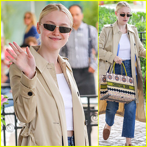 Dakota Fanning Wore The Dress of Her Dreams To Cannes