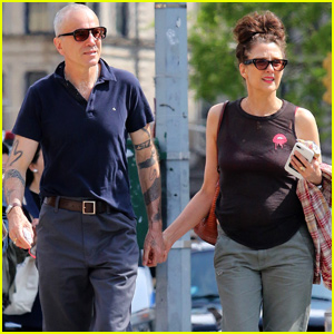 Daniel Day-Lewis Makes Rare Appearance With Wife Rebecca Miller in NYC