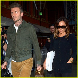 David & Victoria Beckham Travel from Paris to London By Train