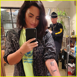 Demi Lovato Honors Great-Grandmother with New Arm Tattoo