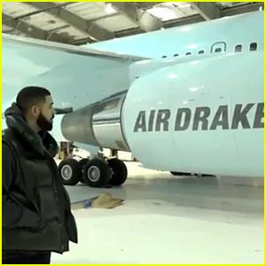 Drake Debuts His New $185 Million 'Air Drake' Plane