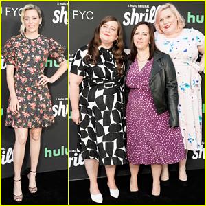 Elizabeth Banks & Aidy Bryant Celebrate 'Shrill' Season 2 Renewal!