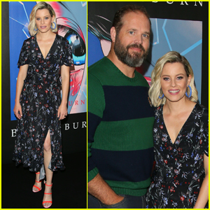 Elizabeth Banks & David Denman Step Out for 'Brightburn' Premiere