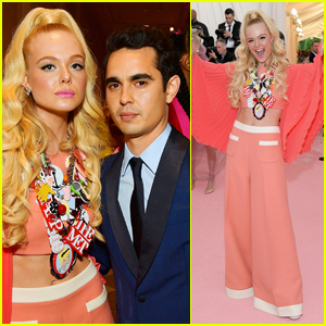 Elle Fanning & Max Minghella Couple Up for Met Gala 2019