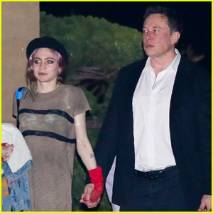 Elon Musk & Grimes Couple Up for Date Night in Malibu
