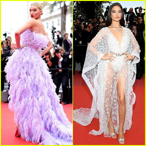 Elsa Hosk & Shanina Shaik Wow During Their Final Cannes Carpet of the Year
