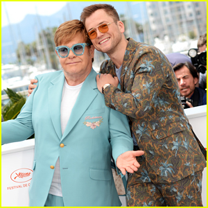 Elton John Joins Taron Egerton & 'Rocketman' Cast at Cannes Film Festival Photo Call!