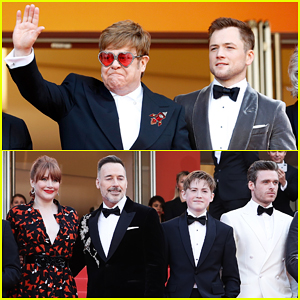 Elton John, Taron Egerton & 'Rocketman' Cast Celebrate Premiere at Cannes Film Festival 2019!