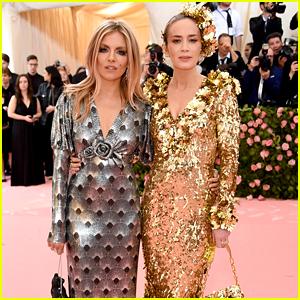 Emily Blunt & Sienna Miller Are Shining on Met Gala 2019 Red Carpet!