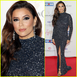 Eva Longoria Dazzles the Red Carpet at Global Gift Initiative Event!