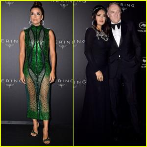 Eva Longoria Joins Salma Hayek & Husband Francois-Henri Pinault at Kering Women in Motion Awards
