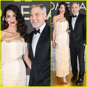 George & Amal Clooney Make a Picture Perfect Couple at Omega Event