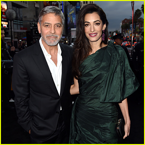 George Clooney's Wife Amal Joins Him at 'Catch-22' Premiere!