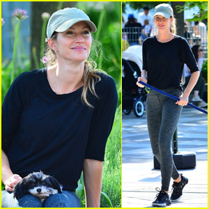 Gisele Bundchen Enjoys the Sunny Weather in NYC!