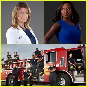 ABC Renews 'Grey's Anatomy,' 'How to Get Away With Murder' & 'Station 19'!
