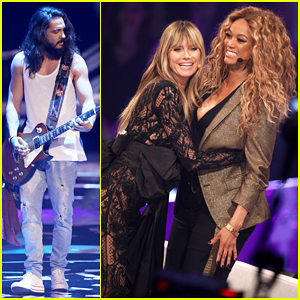 Heidi Klum Joined By Tyra Banks & Fiance Tom Kaulitz at 'Germany's Next Top Model' Live Final!