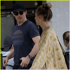 James Marsden & Girlfriend Edei Grab Lunch at Joan's on Third