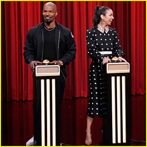 Jamie Foxx Challenges Daughter Corinne In 'Name That Song' On 'Tonight Show' - Watch Here!