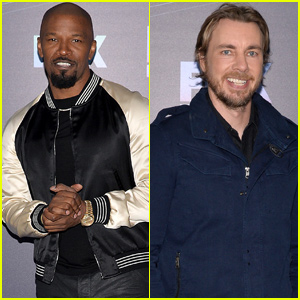 Jamie Foxx & Dax Shepard Are All About Game Shows at Fox Upfronts Event!