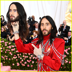 Jared Leto Brings a Replica of His Head to Met Gala 2019