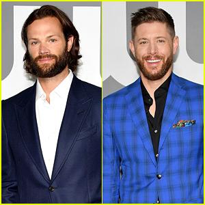 Jared Padalecki & Jensen Ackles Attend Final CW Upfronts for 'Supernatural'