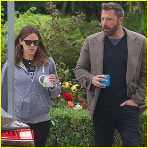 Ben Affleck & Jennifer Garner Run Morning Errands Together