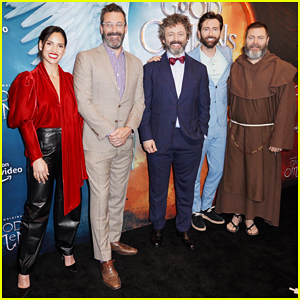 Jon Hamm & 'Good Omens' Cast Celebrate Premiere in NYC!