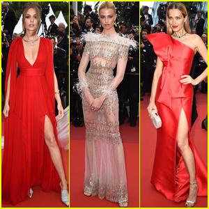 Josephine Skriver Joins Hailey Clauson & Petra Nemcova at 'La Belle Epoque' Cannes Premiere!