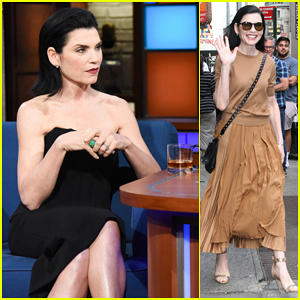 Julianna Margulies Says 'We Need To Support Our Scientist'!