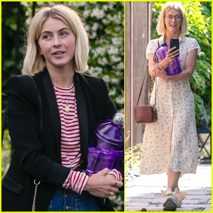 Julianne Hough Steps Out for a Meeting at Her Office in L.A.