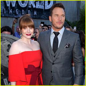 Chris Pratt & Bryce Dallas Howard Are Teaming Up Again for 'Jurassic World' Ride at Universal Studios!