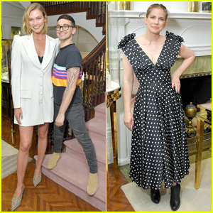 Karlie Kloss & Anna Chlumsky Attend Christian Siriano Event in NYC