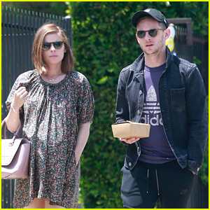 Pregnant Kate Mara Enjoys Her Saturday with Jamie Bell