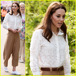 Kate Middleton Steps Out Solo for RHS Chelsea Flower Show 2019 Press Day!