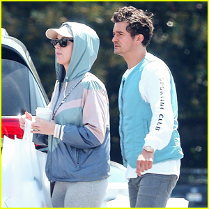 Katy Perry Steps Out with Fiance Orlando Bloom Ahead of 'American Idol' Finale
