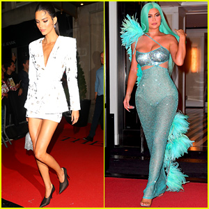 Kendall & Kylie Jenner Change Outfits for Met Gala 2019 After-Party