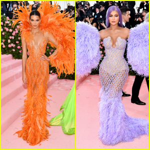 Kendall & Kylie Jenner Rock Jaw Dropping Looks for Met Gala 2019!