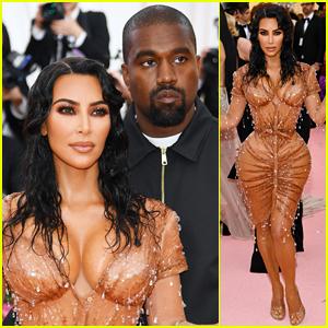 Kim Kardashian Shows Her Assets at Met Gala 2019 with Kanye West!