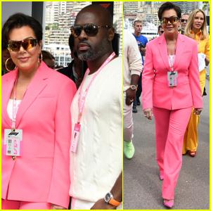 Kris Jenner & Corey Gamble Couple Up for F1 Grand Prix 2019 in Monaco!